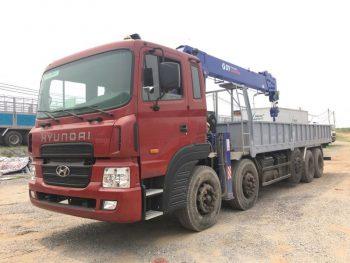 Xe tải Huyndai HD360 gắn cẩu Dongyang